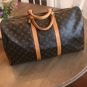 Authentic Louis Vuitton Keepall Bandouliere